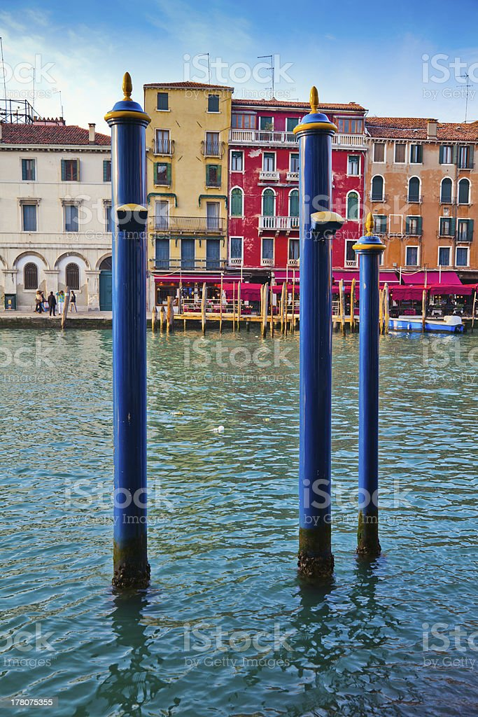 picturesque view of the Grand Canal royalty-free stock photo