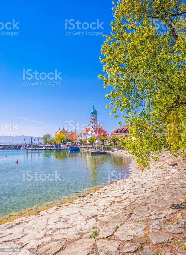 Malerischer Blick auf Wasserburg am Lake Constance – Foto