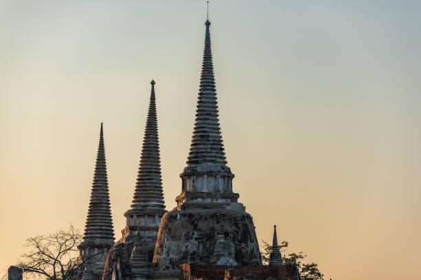 Temple de Wat Phra Si Sanphet pittoresque - Photo