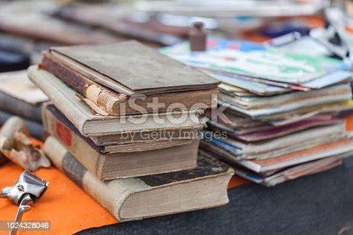 Pictutes of local flea market Dry bridge, Tbilisi