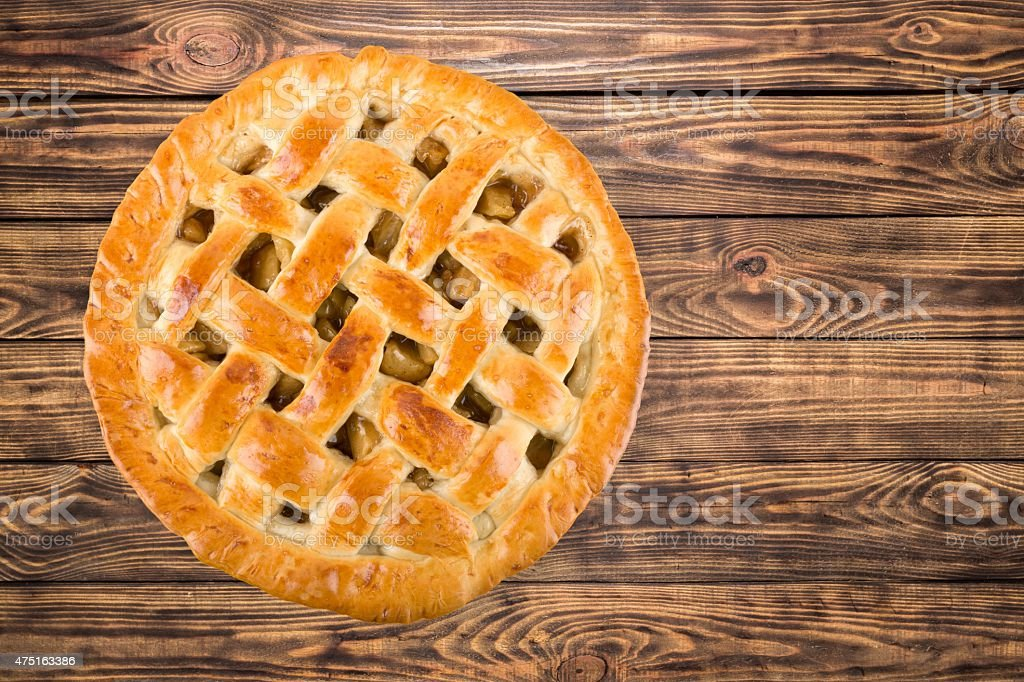 Pie, Apple Pie, Isolated stock photo