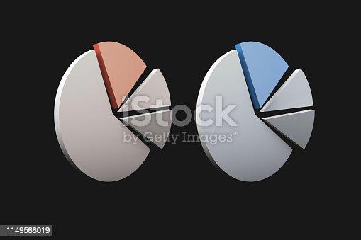 1149618149 istock photo Pie Chart Infographic Element 1149568019