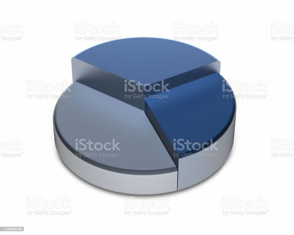 Pie Chart XL stock photo