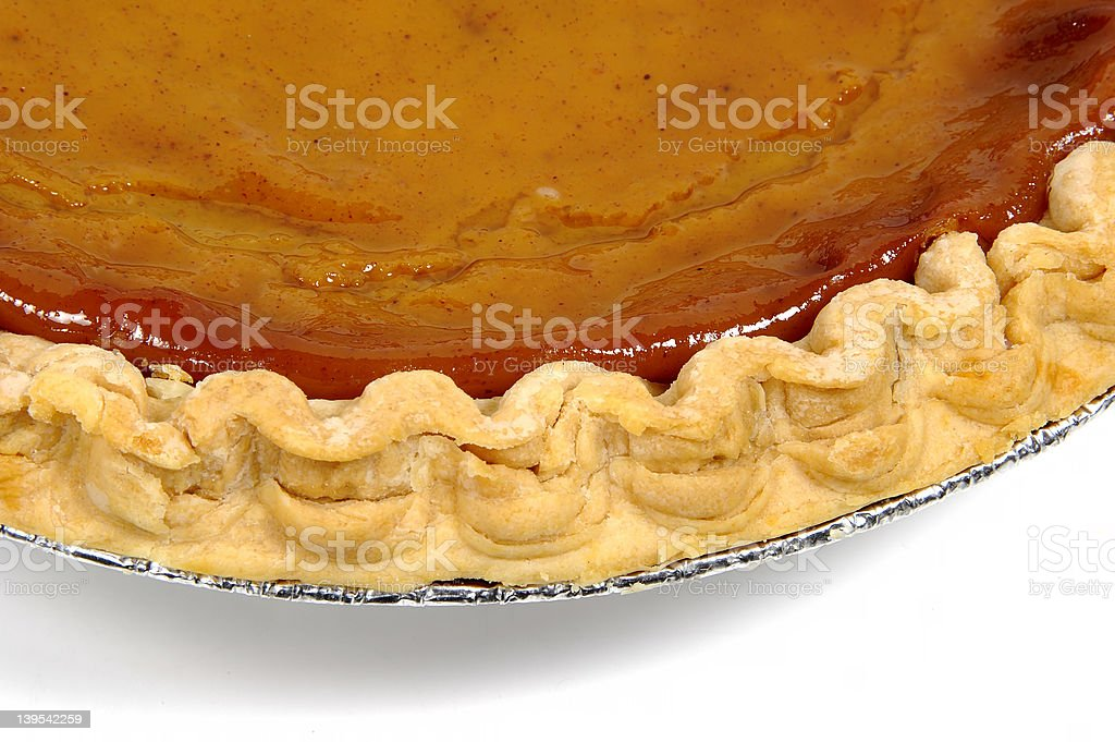 Pie Crust royalty-free stock photo