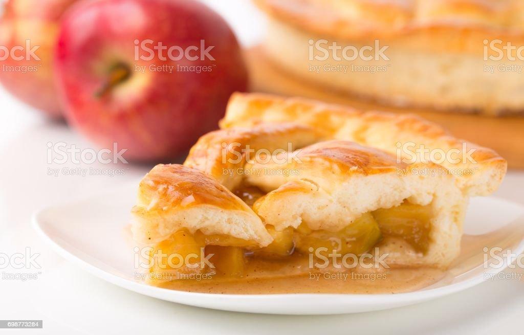Pie. stock photo