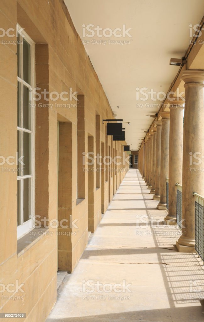 Piece Hall in Halifax, West Yorkshire stock photo