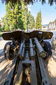 piece of artillery