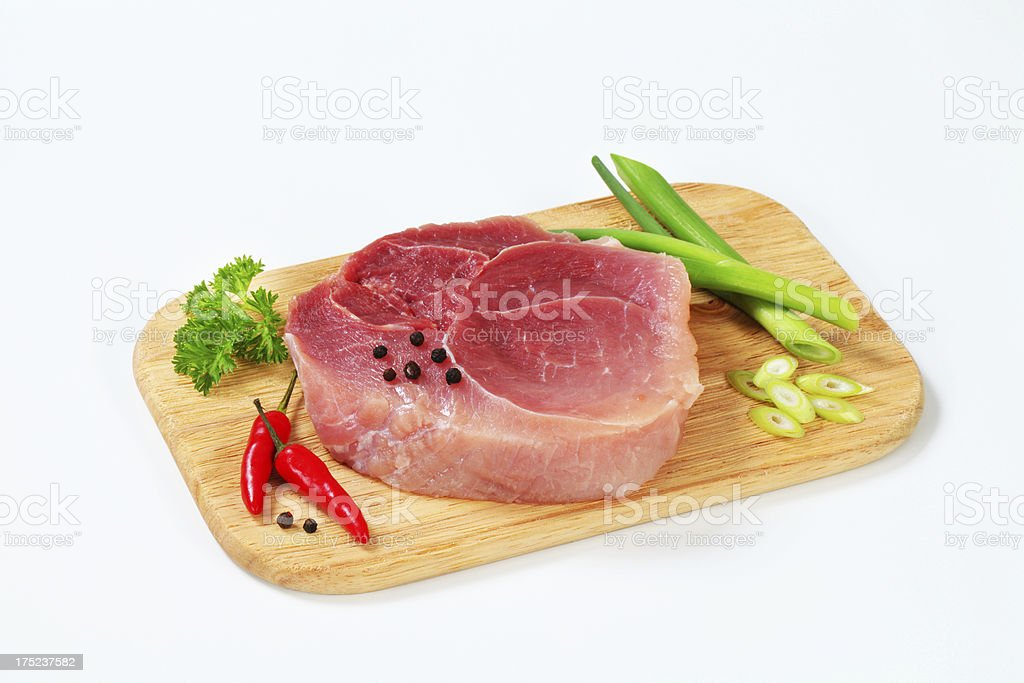 Piece of beef shoulder royalty-free stock photo