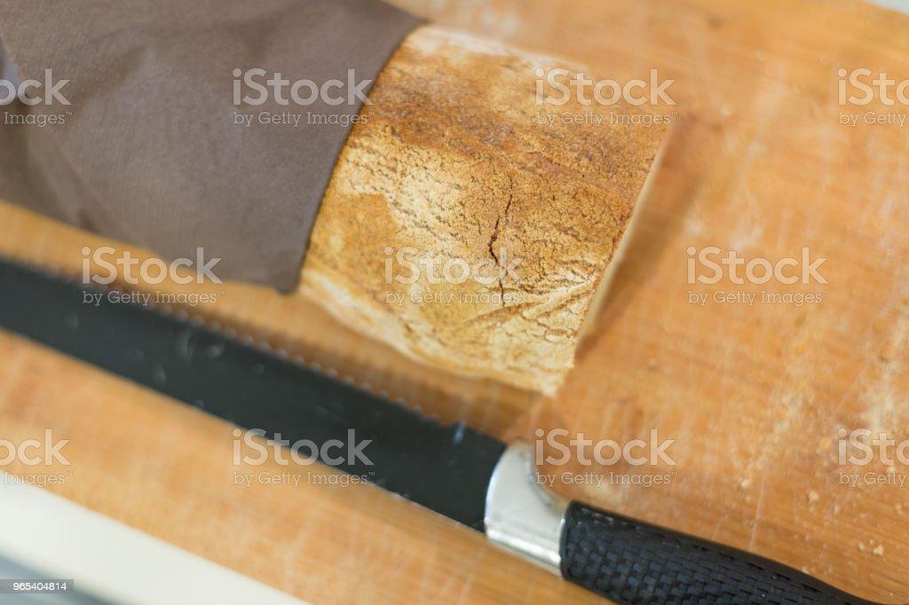 Piece of bread zbiór zdjęć royalty-free