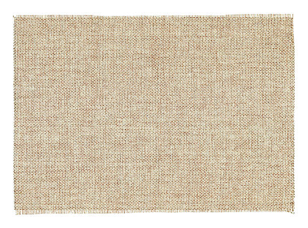 Piece of Burlap textile background textured isolated Piece of Burlap textile background textured isolated on white background. burlap stock pictures, royalty-free photos & images