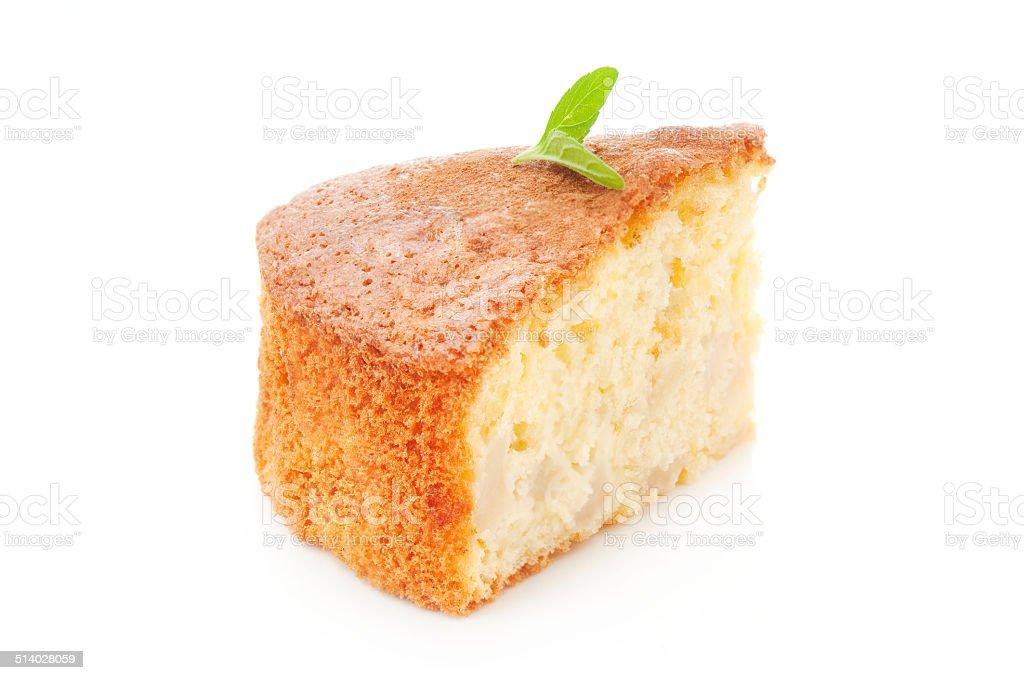 Fatia de bolo - foto de acervo