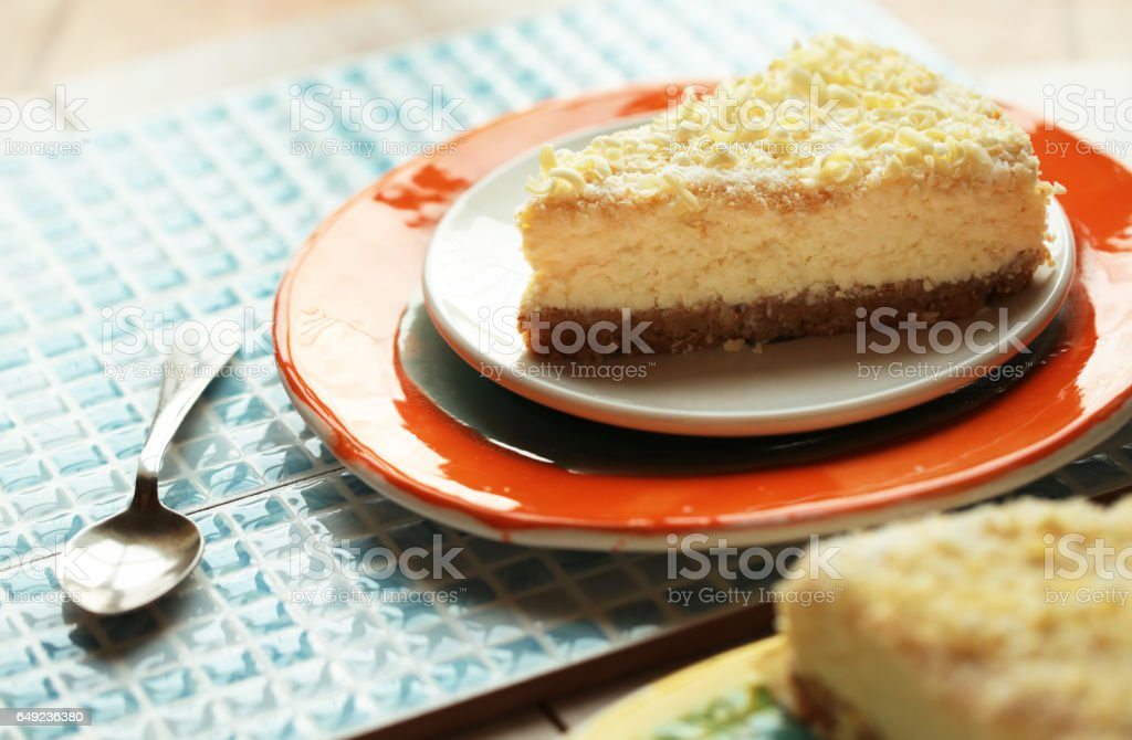 Piece of cake. stock photo