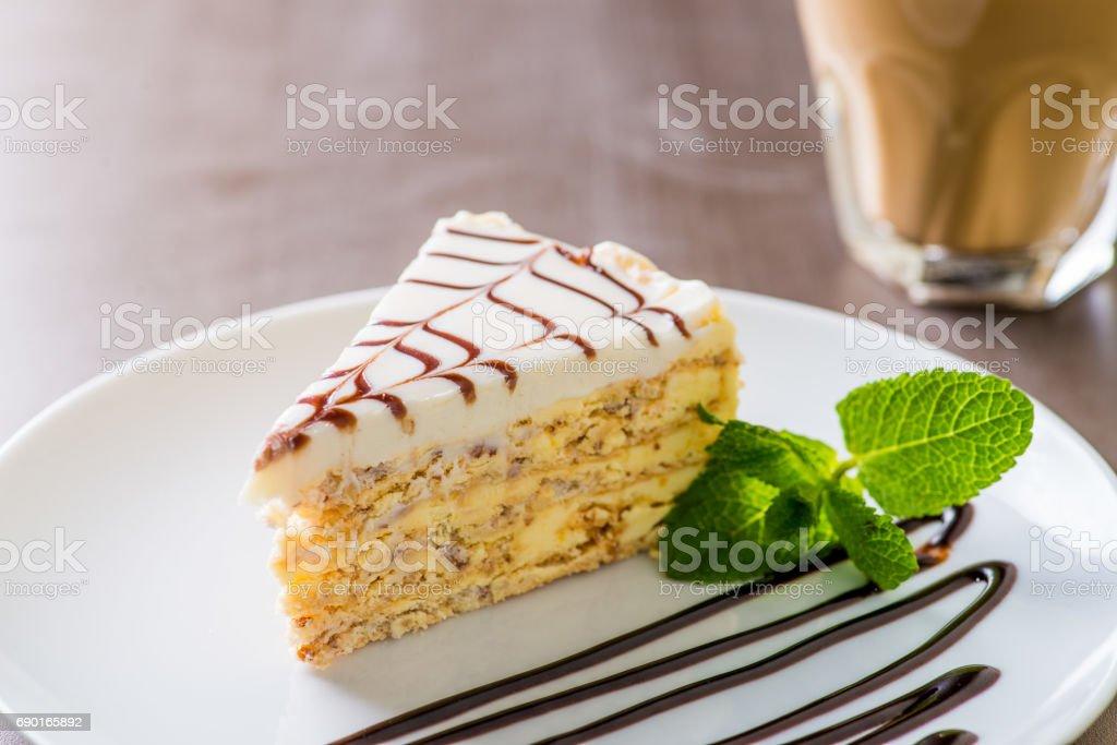 Stück Kuchen – Foto