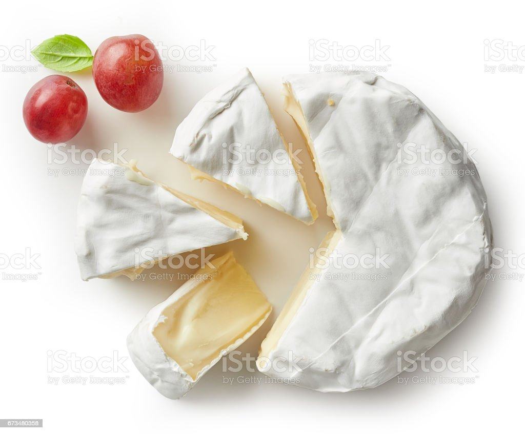 Morceau de fromage camembert - Photo