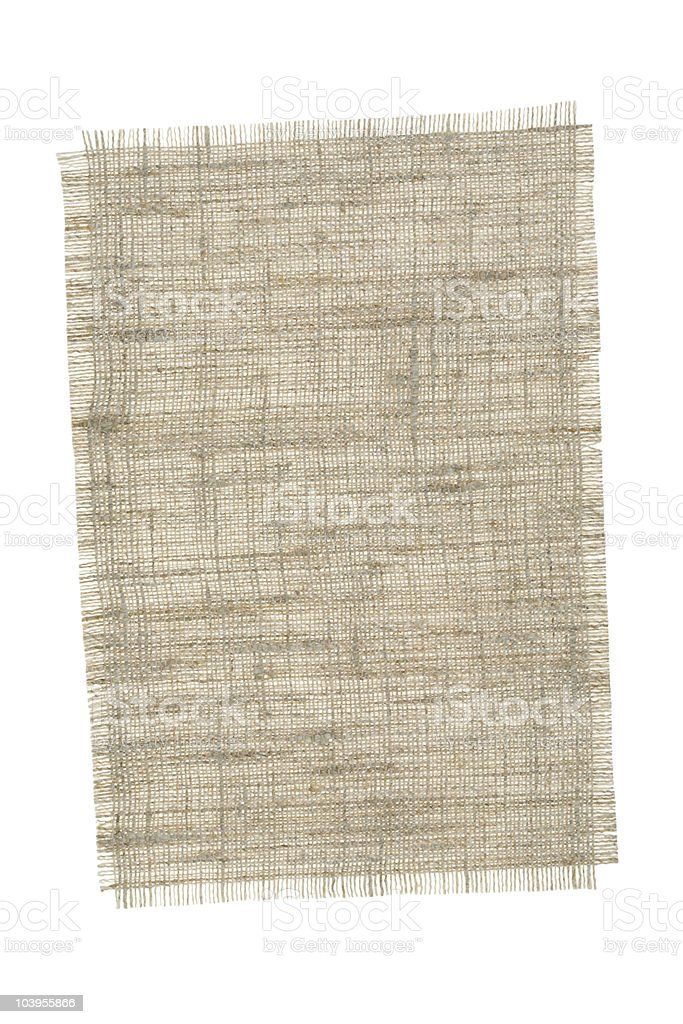 piece of canvas royalty-free stock photo