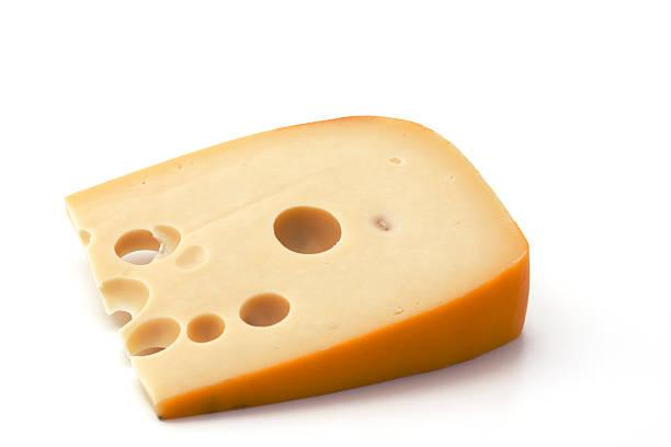 pezzo di formaggio - emmentaler foto e immagini stock