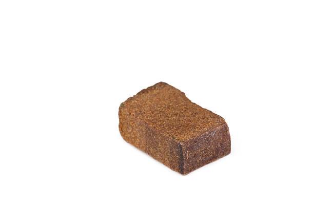 Piece of hashish stock photo