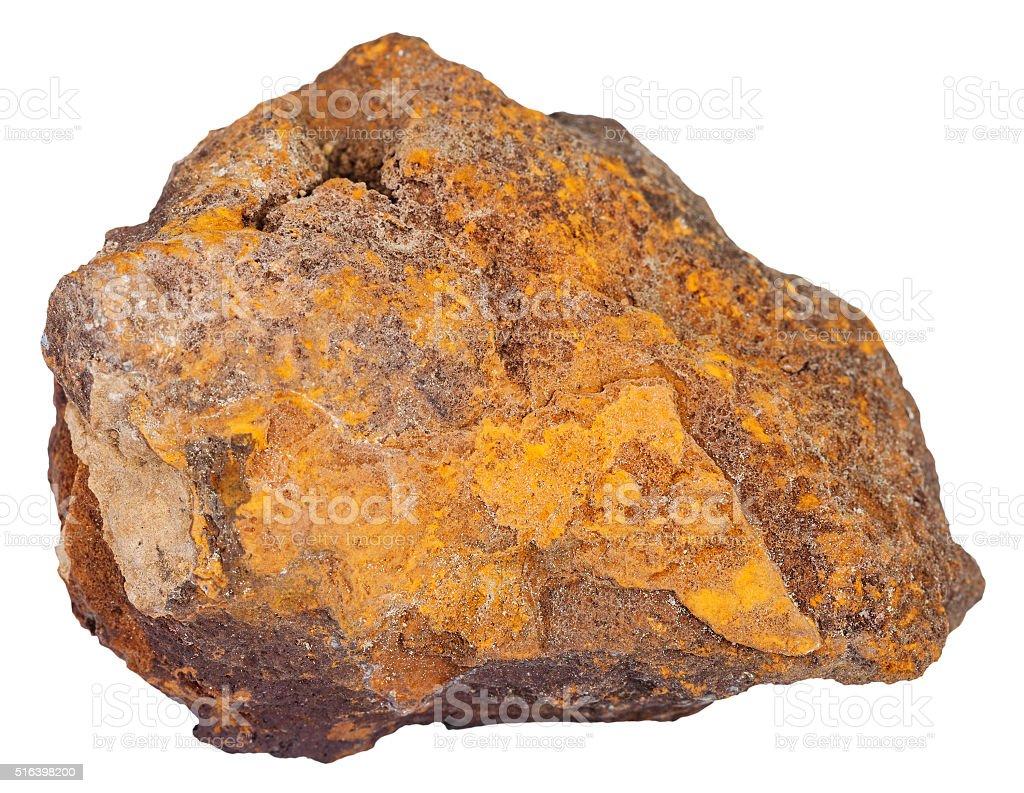の 褐鉄鉱 鉄鉱石のミネラルスト...