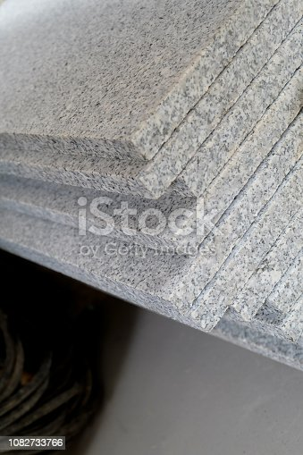 671896388istockphoto Piece of natural stone shelves 1082733766