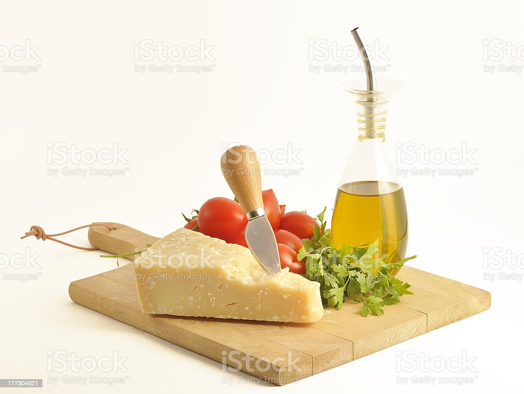 piece of parmesan royalty-free stock photo