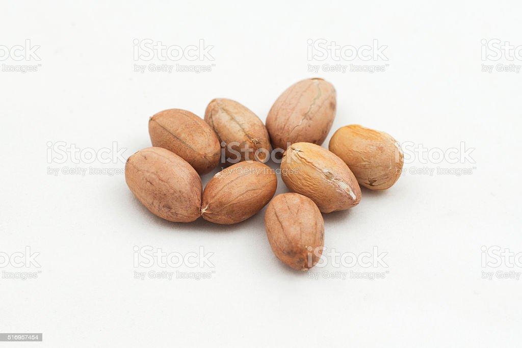 piece of peanuts stock photo