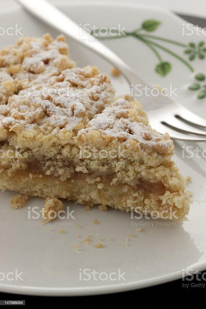 Piece of pie royalty-free stock photo
