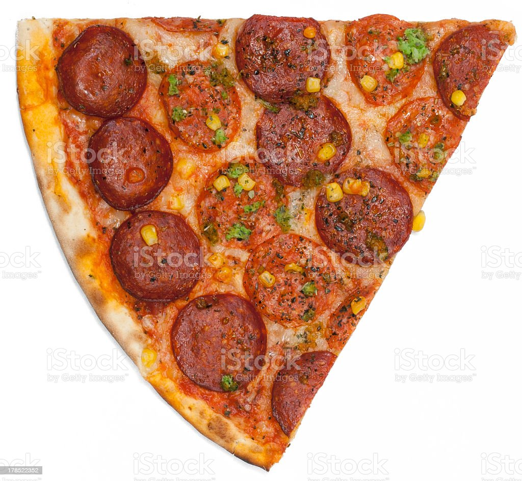 piece of pizza royalty-free stock photo