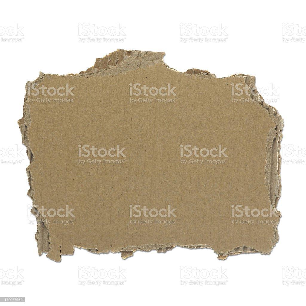 Stück zerrissenes Papier Lizenzfreies stock-foto