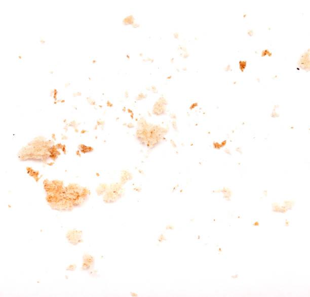 pieces of bread - briciola foto e immagini stock
