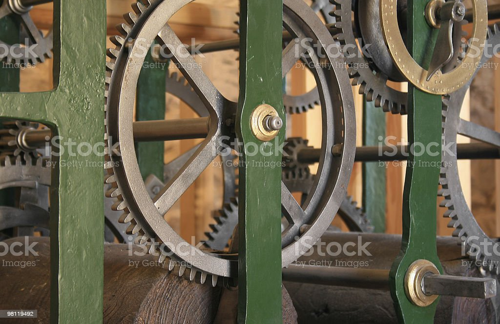 pieces of time royalty-free stock photo