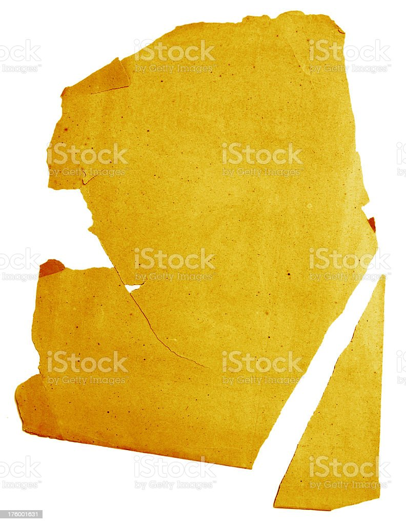 Piecing together the Treasure Map stock photo