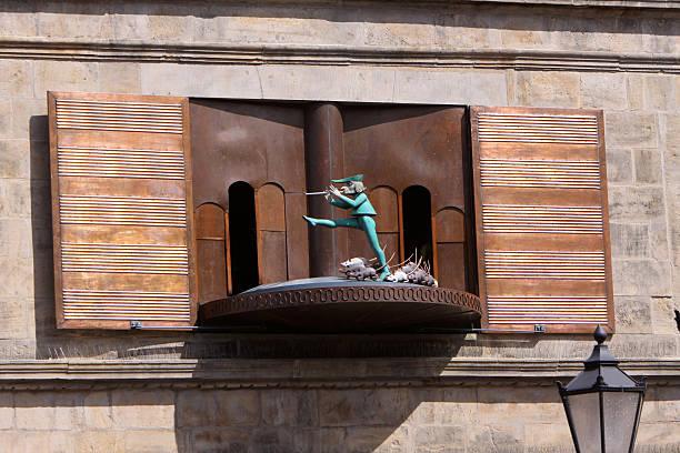 Pied Piper carillon in Hameln (Deutschland – Foto