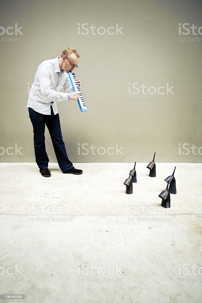 pied piper royalty-free stock photo