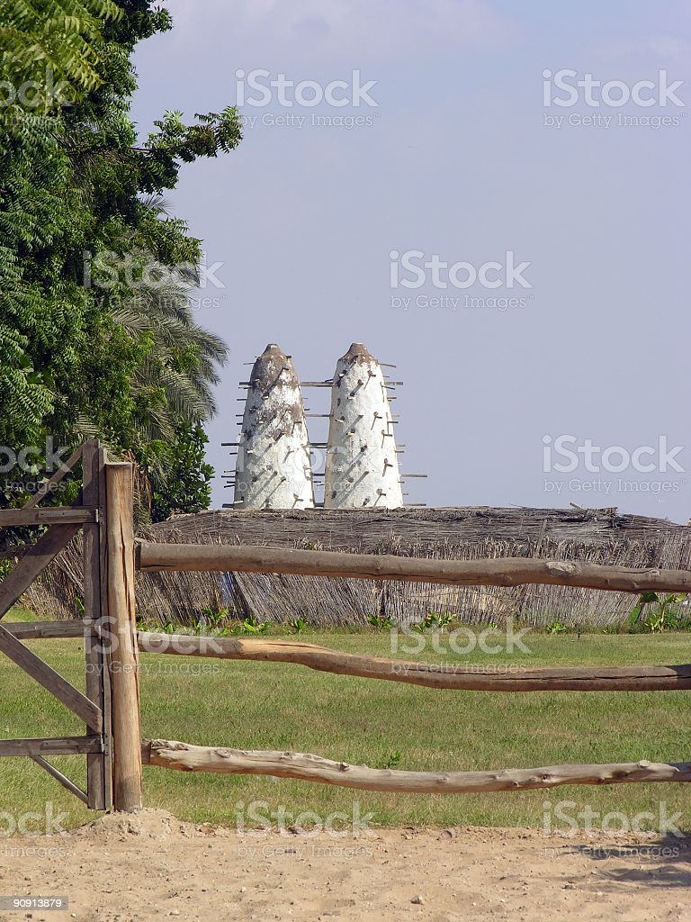Piegon Tower royalty-free stock photo