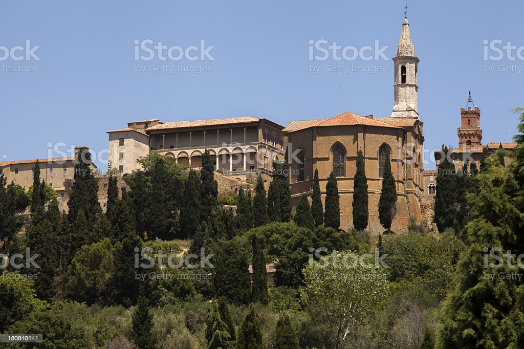 Pienza royalty-free stock photo