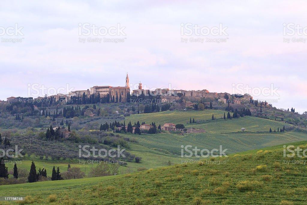 Pienza, Tuscany - Italy royalty-free stock photo