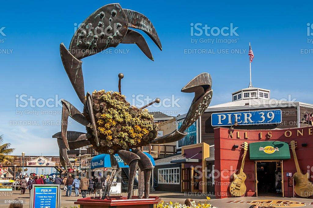 Pier 39 stock photo
