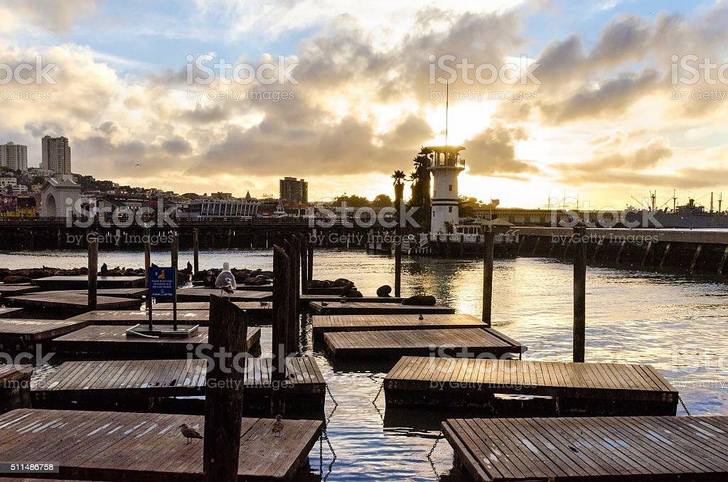 Pier 39, San Francisco, California stock photo