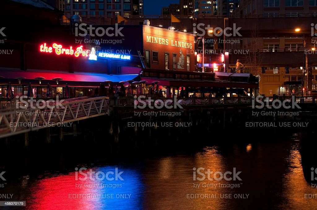 Pier 57 royalty-free stock photo