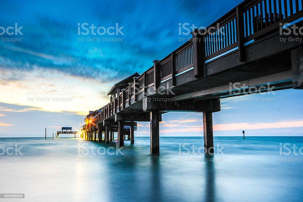 pier 60 landmark of clearwater beach florida stock photo more