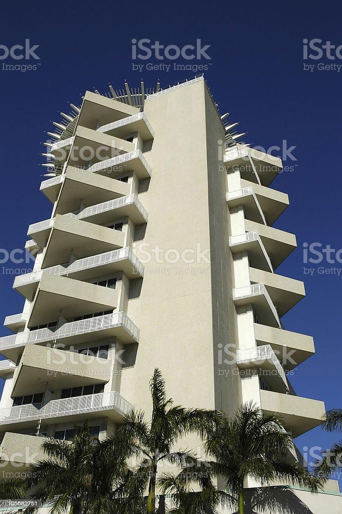 Pier 66 Hotel Tower stock photo