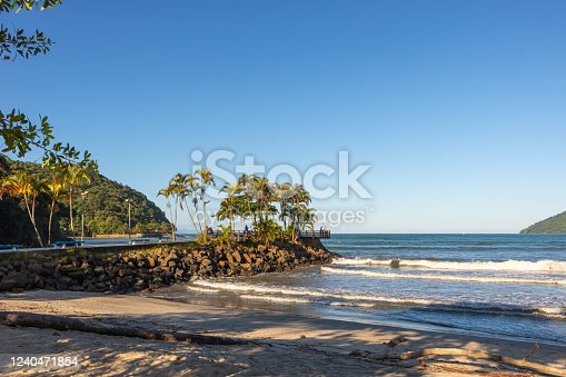 1130689824 istock photo Pier and Palm trees 1240471854