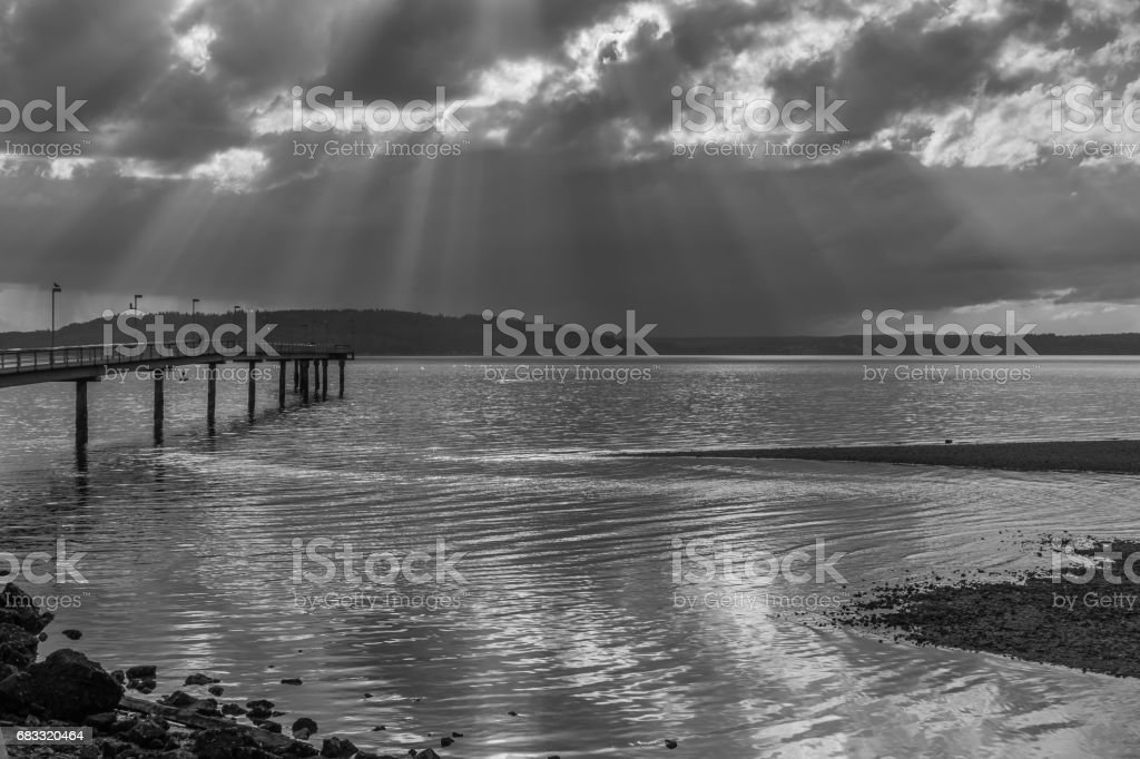 Pier And Sky 2 foto stock royalty-free