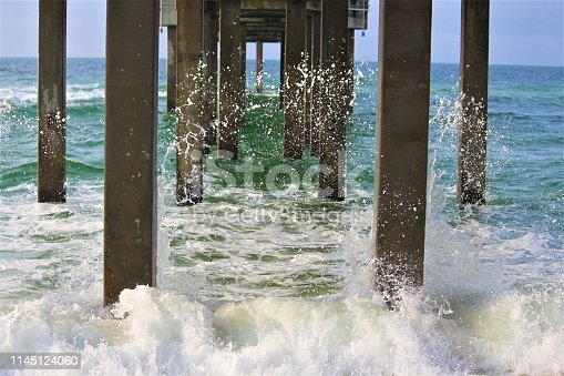 istock Pier At Orange Beach 1145124060