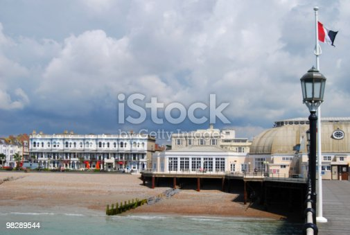 Pier At Worthing West Sussex England Stock Photo & More Pictures of Architecture