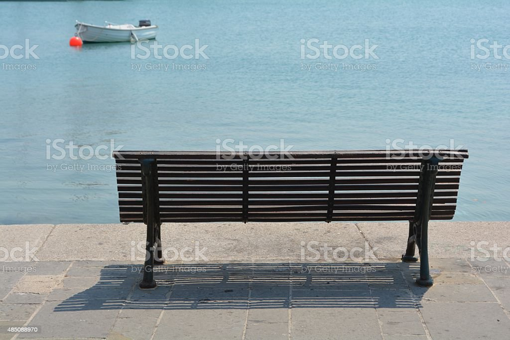 Pier Bench Stock Photo - Download Image Now - iStock