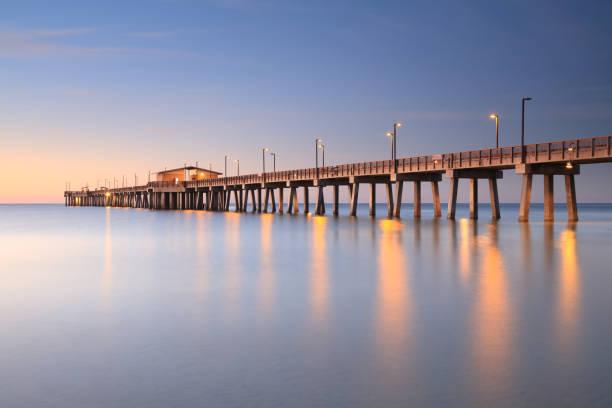i̇skele, gulf shores, alabama - alabama stok fotoğraflar ve resimler