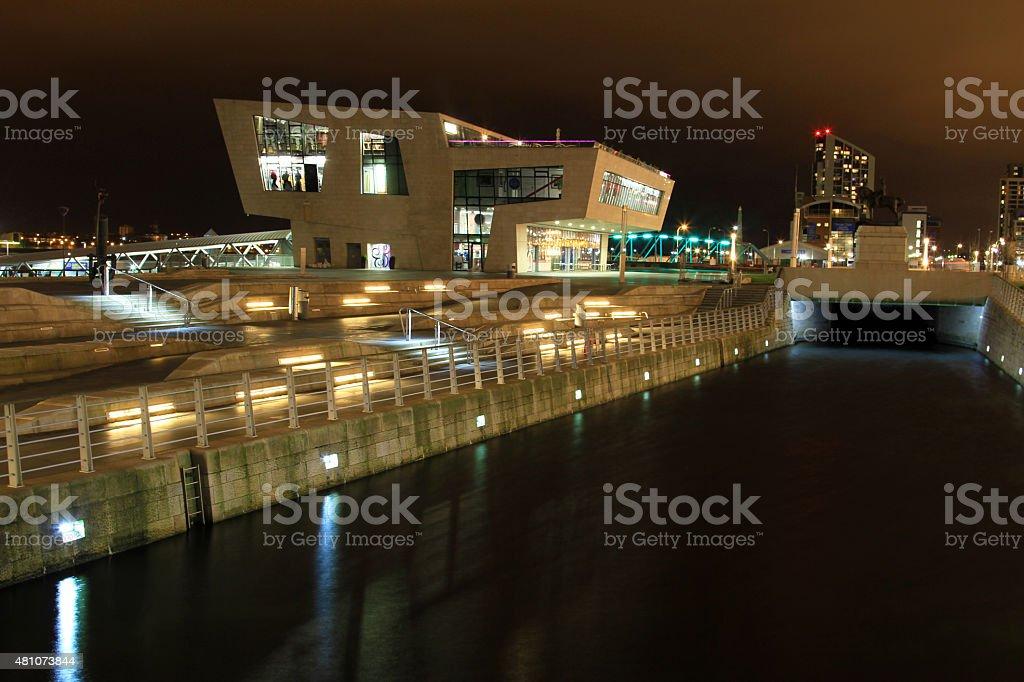 Pier Head Canal stock photo