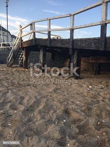 Pier In Broadstairs Stock Photo & More Pictures of Beach