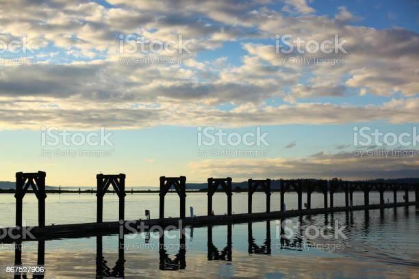 Pier in Everett WA